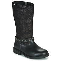 Pantofi Fete Cizme casual Pablosky 488012 Negru