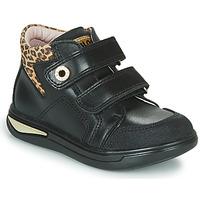 Pantofi Fete Pantofi sport stil gheata Pablosky 490611 Negru / Leopard