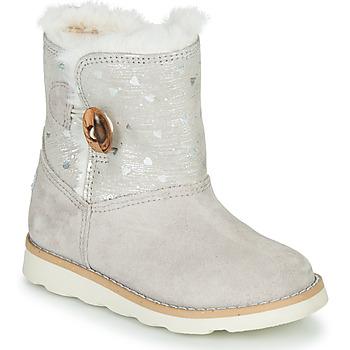 Pantofi Fete Ghete Pablosky 491506 Gri