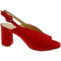 Pantofi Femei Sandale  Soffice Sogno SOSO20150ro rosso