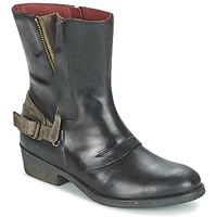 Pantofi Femei Ghete Kickers AMERIKO Negru / Gri