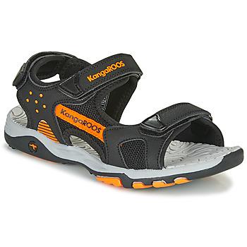 Pantofi Băieți Sandale sport Kangaroos K-Celtic Negru / Portocaliu