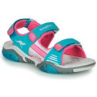 Pantofi Copii Sandale sport Kangaroos Sandalshine Albastru / Roz
