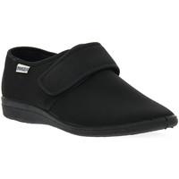 Pantofi Bărbați Papuci de casă Emanuela 986 NERO PANTOFOLA Nero