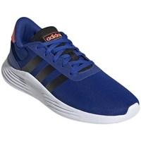 Pantofi Băieți Trail și running adidas Originals Lite Racer Alb, Albastre, Portocalie