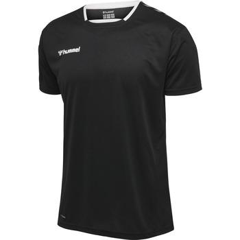 Îmbracaminte Bărbați Tricouri mânecă scurtă Hummel Maillot  Authentic Poly HML noir/blanc