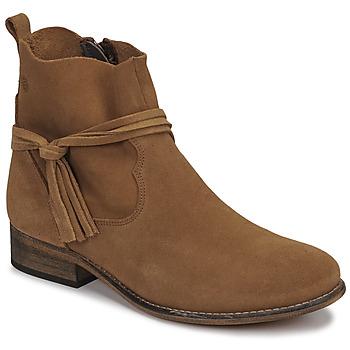 Pantofi Femei Ghete Betty London NENESS Camel