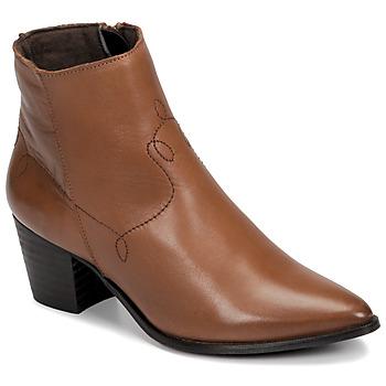 Pantofi Femei Botine Betty London NIMIE Camel