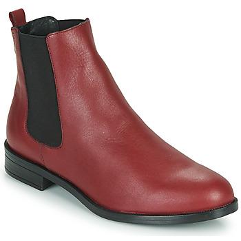 Pantofi Femei Ghete Betty London NIDOLE Roșu