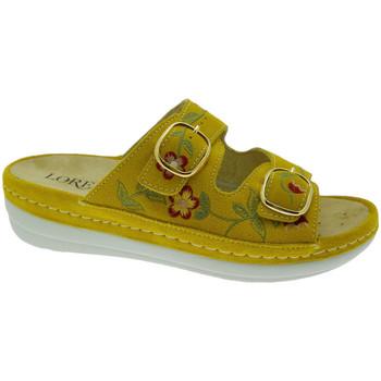 Pantofi Femei Papuci de vară Calzaturificio Loren LOB5021gi rosso