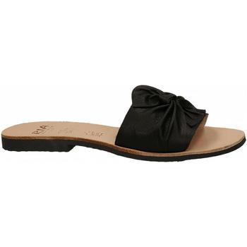 Pantofi Femei Papuci de vară Ria VELVET nero