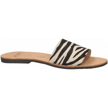 Pantofi Femei Papuci de vară Ria HORMA zebra