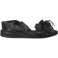 Pantofi Femei Sandale  Now CLOE' nero-acciaio