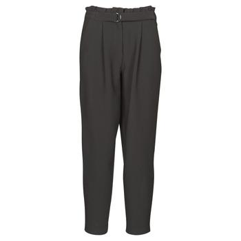 Îmbracaminte Femei Pantaloni trei sferturi Vila VICHARLOTTE Negru