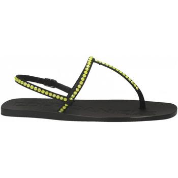 Pantofi Femei Sandale  Eddy Daniele ROMINA RASO nero-giallo