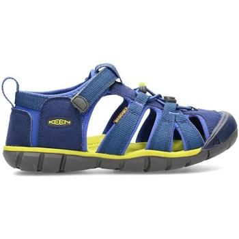 Pantofi Copii Sandale  Keen Seacamp II Cnx Albastre, Oliv, Grafit