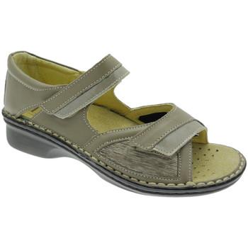 Pantofi Femei Sandale  Calzaturificio Loren LOM2834to tortora