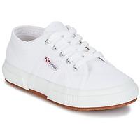 Încăltăminte Copii Pantofi sport Casual Superga 2750 J COT CLASSIC Alb