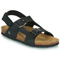 Pantofi Băieți Sandale  Citrouille et Compagnie KELATU Negru