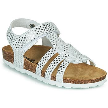 Pantofi Fete Sandale  Citrouille et Compagnie MALIA Alb
