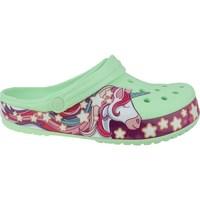 Pantofi Copii  Flip-Flops Crocs Fun Lab Unicorn Band Clog Verde, Roz