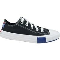 Pantofi Copii Pantofi sport Casual Converse Chuck Taylor All Star JR Alb, Negre