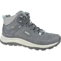Pantofi Femei Drumetie și trekking Keen W Terradora II Mid WP Gri