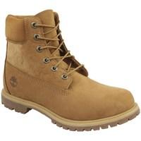 Pantofi Femei Pantofi sport stil gheata Timberland 6 IN Premium Boot W Cafenii