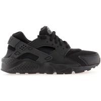 Pantofi Băieți Trail și running Nike Huarache Run GS Negre