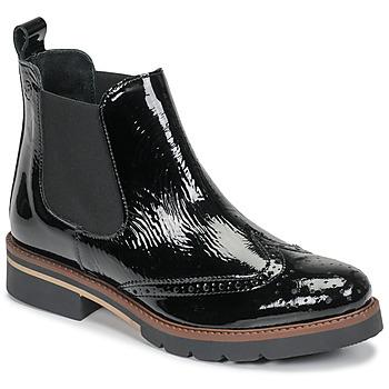 Pantofi Femei Ghete Betty London NAVA Negru / Lac