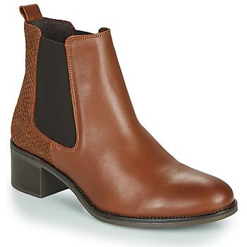 Pantofi Femei Botine Betty London HASNI Maro ruginiu