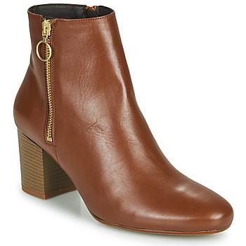 Pantofi Femei Botine Betty London NILIVE Camel