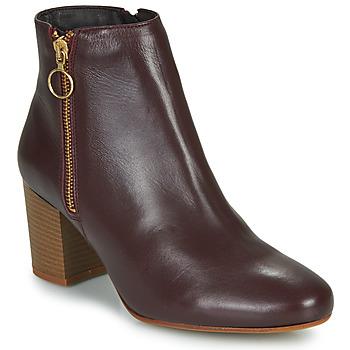 Pantofi Femei Botine Betty London NILIVE Bordo