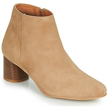Pantofi Femei Botine Betty London NILOVE Bej