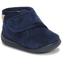 Pantofi Băieți Papuci de casă Citrouille et Compagnie HALI Bleumarin