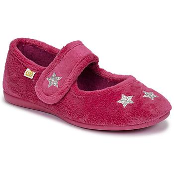 Pantofi Fete Papuci de casă Citrouille et Compagnie LANINOU Bordo