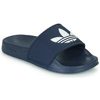 Pantofi Copii Șlapi adidas Originals ADILETTE LITE J Albastru / Alb