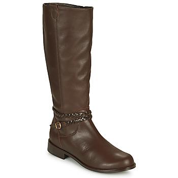 Pantofi Femei Cizme casual So Size AURELIO Maro