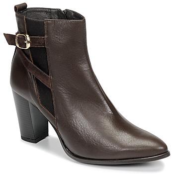 Pantofi Femei Botine So Size AURELIO Maro
