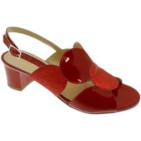 Pantofi Femei Sandale  Soffice Sogno SOSO20123ro rosso