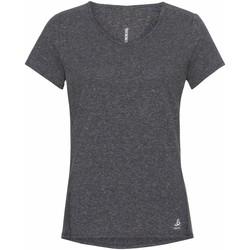 Îmbracaminte Femei Tricouri mânecă scurtă Odlo T-shirt femme  Lou Linencool gris