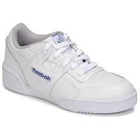 Pantofi Copii Pantofi sport Casual Reebok Classic WORKOUT PLUS Alb