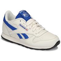 Pantofi Copii Pantofi sport Casual Reebok Classic CLASSIC LEATHER Alb / Albastru
