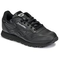 Pantofi Copii Pantofi sport Casual Reebok Classic CLASSIC LEATHER Negru