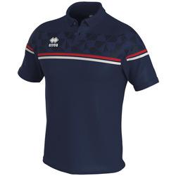 Îmbracaminte Tricou Polo mânecă scurtă Errea Polo  dominic bleu/marine/blanc