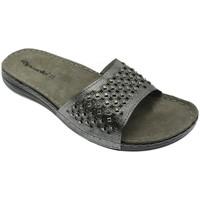 Pantofi Femei Papuci de vară Riposella RIP5793acc grigio
