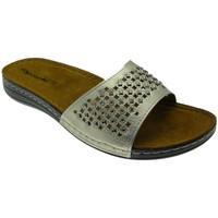Pantofi Femei Papuci de vară Riposella RIP5793pla grigio