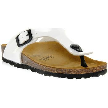 Pantofi Băieți  Flip-Flops Gold Star BIANCO VERNICE Bianco