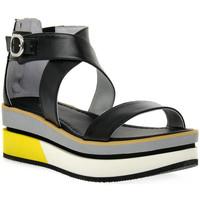 Pantofi Femei Sandale  NeroGiardini NERO GIARDINI  100 LEON NERO Nero