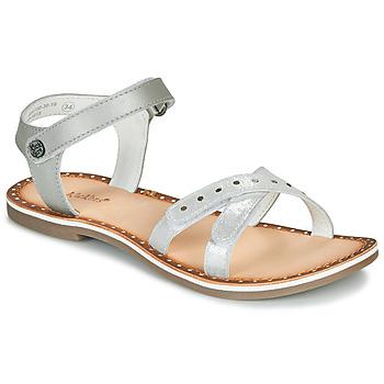 Pantofi Fete Sandale  Kickers DIDONC Argintiu